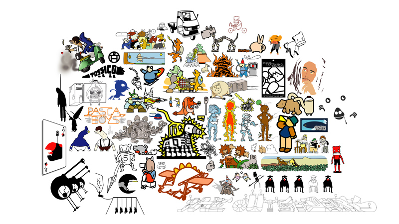 CHARACTERS COLLECTION – VARIOUS DESIGNS