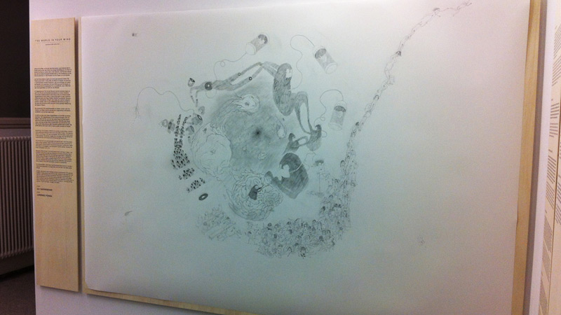 THE WORLD IN YOUR MIND – PENCIL PAINTING