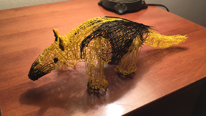 TAMANDUA – 3D PEN DRAWING
